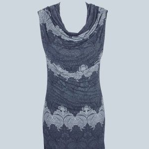 Desigual Women's Sleeveless Cowl Neck Dress